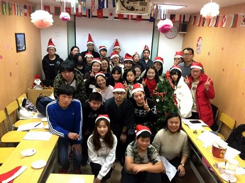 东经日语俱乐部圣诞活动