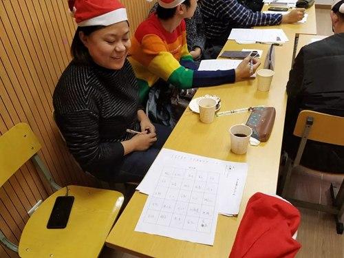 东经日语圣诞活动