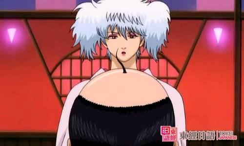 《银魂》:坂田银时-男扮女装的日本动漫