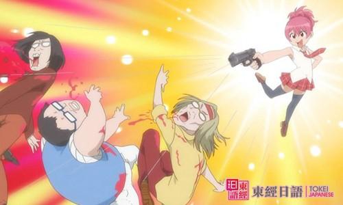 《男子高中生的日常》:忠邦-男扮女装的日本动漫