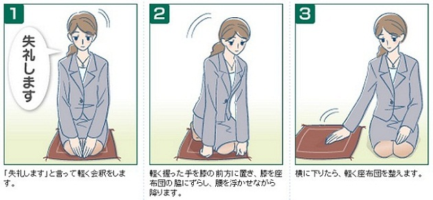 日本跪坐礼-日本文化-苏州日语培训