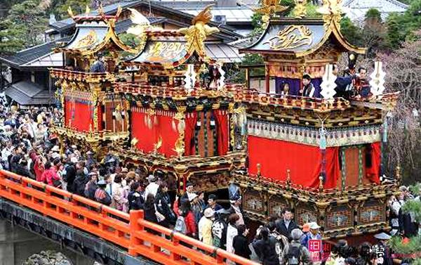 春季山王祭游行场面-苏州日语-东经日语