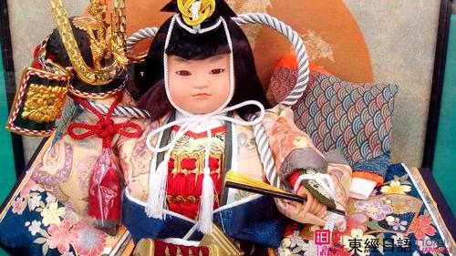 日本儿童节武士玩偶-苏州新区日语培训-苏州日语学习