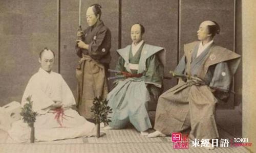 日本武士切腹-日本切腹