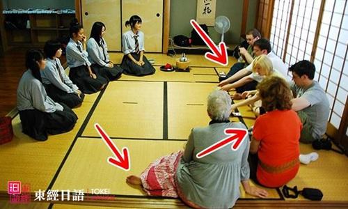 五种奇怪的日本礼仪-正确坐着的艺术