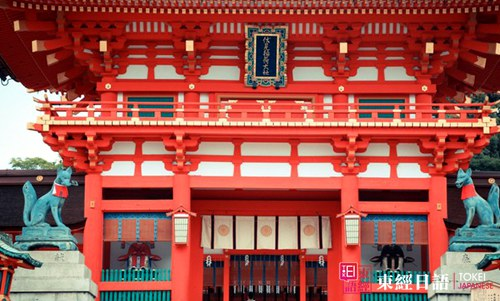 日本伏见稻荷大社-日本神社
