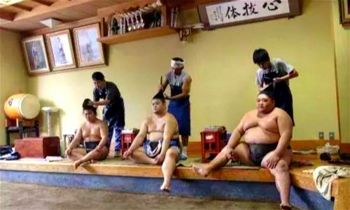 相扑运动员发型