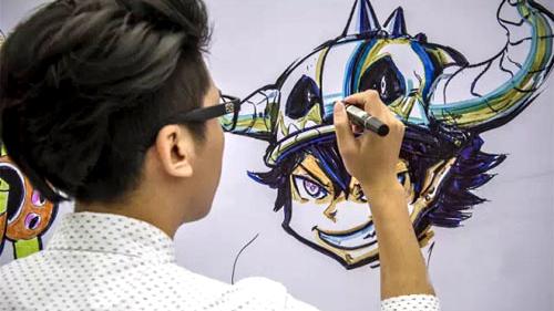日本留学漫画师-苏州日语培训-苏州日语