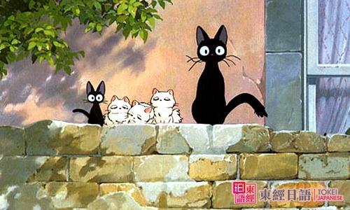 判断几个黑猫-初级日语学习-简单日语学习