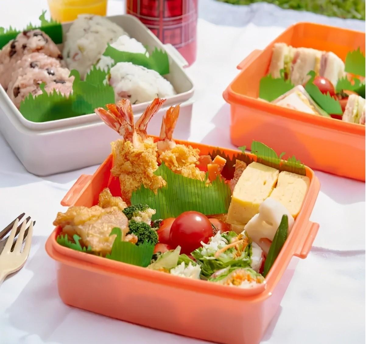 日料、日本便当盒里的绿色装饰物是什么?