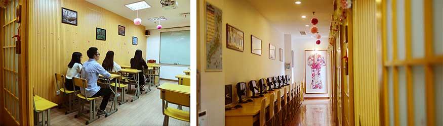 东经日语教室环境