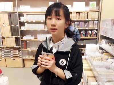 东经日语明星学员陈同学